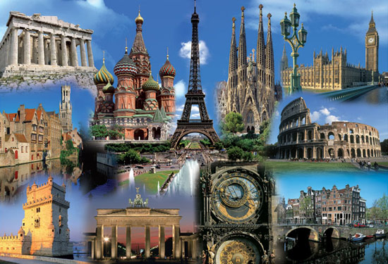 Europe-Collage
